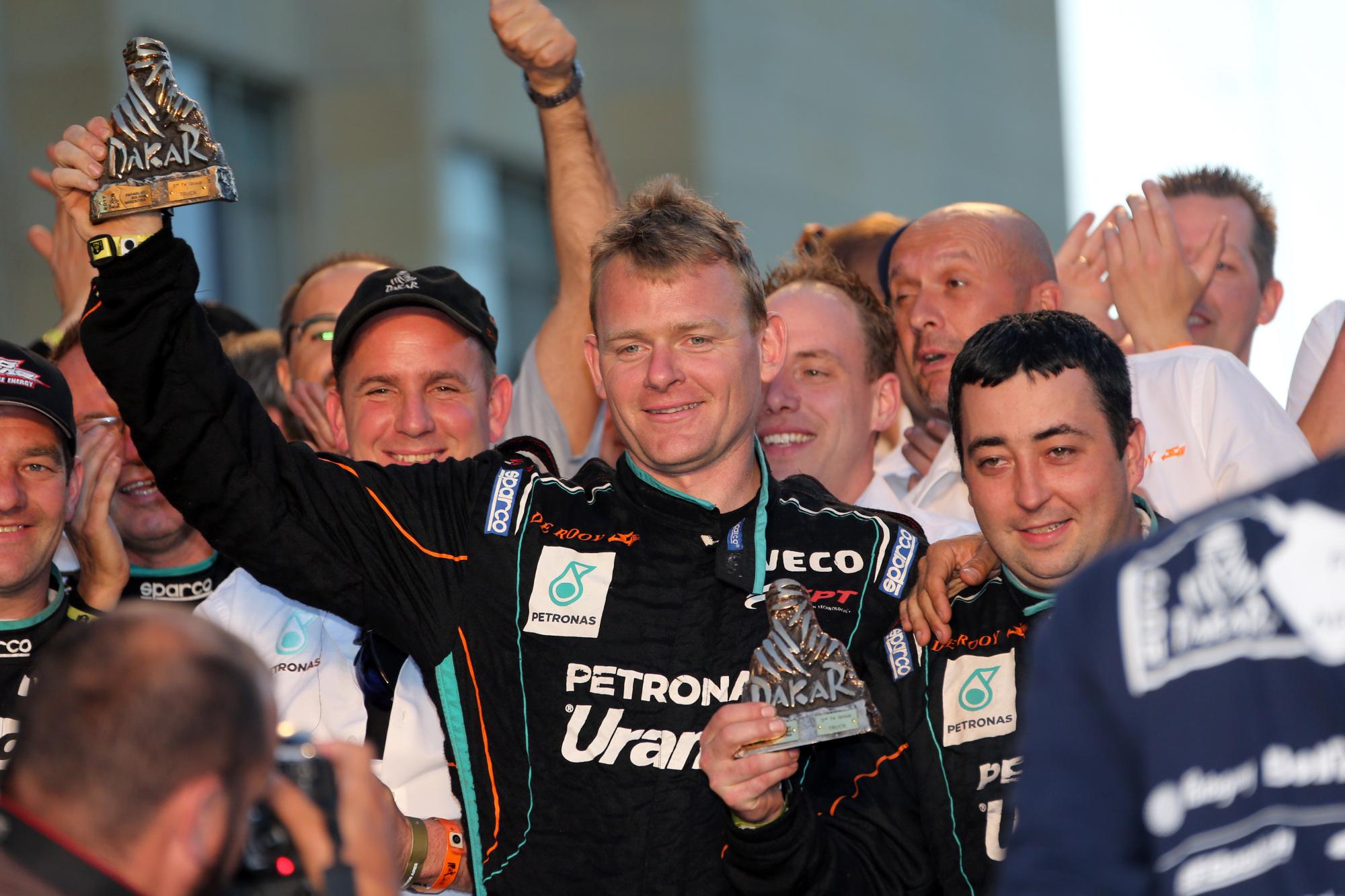 Goodyear De Rooy Dakar 3rd Place