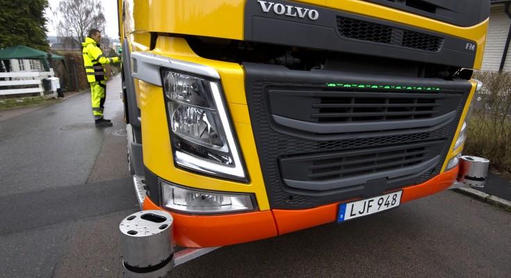 170331-AB Volvo Förarlös sopbil. Best. av Anna Arbius Bild: Cicci Jonson, Bilduppdraget