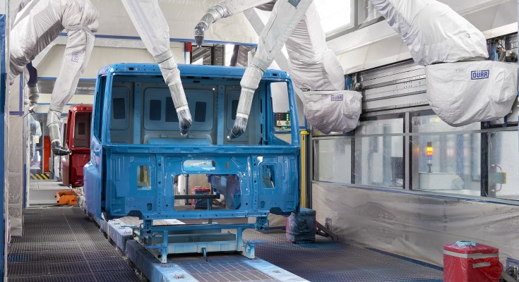 Attachment MS-0019-17 DAF Trucks new Cab Paint Shop in Westerlo - Painting by Robots